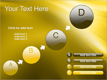 Golden Design PowerPoint Template - Slide 15