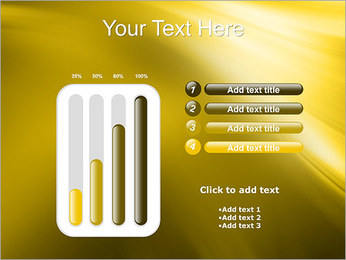 Golden Design PowerPoint Template - Slide 18