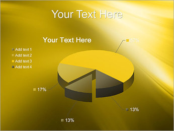 Golden Design PowerPoint Template - Slide 19