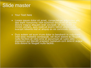Golden Design PowerPoint Template - Slide 2
