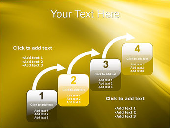 Golden Design PowerPoint Template - Slide 20