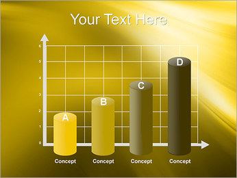 Golden Design PowerPoint Template - Slide 21