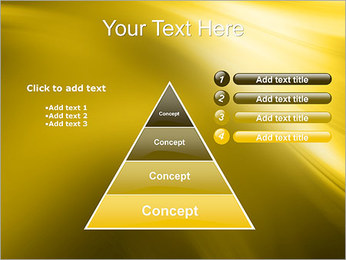 Golden Design PowerPoint Template - Slide 22