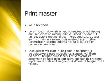 Golden Design PowerPoint Template - Slide 24