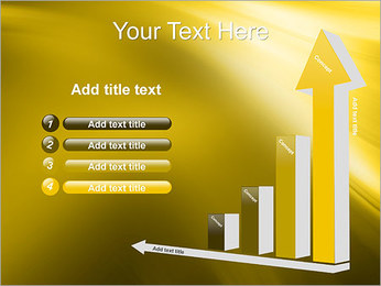 Golden Design PowerPoint Template - Slide 6
