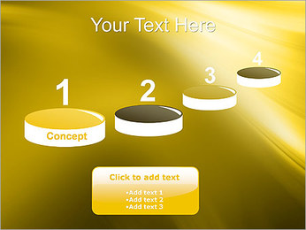 Golden Design PowerPoint Template - Slide 7
