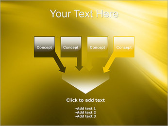 Golden Design PowerPoint Template - Slide 8