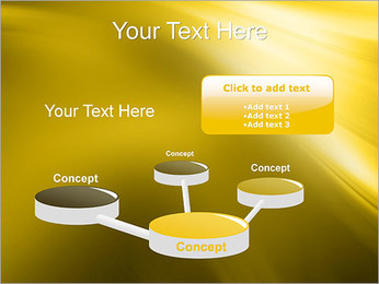 Golden Design PowerPoint Template - Slide 9