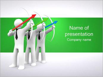 Archers Negócios Modelos de apresentações PowerPoint - Slide 1