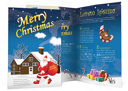 Christmas Brochure Template Design Id 0000001469 Smiletemplates