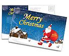 Рождество Почтовые открытки