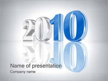 New Year 2010 PowerPoint Template