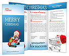 Santa with Gifts Brochure Templates