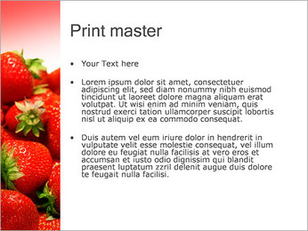 Fraise Modèles des présentations  PowerPoint - Diapositives 24