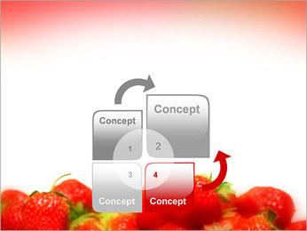Fraise Modèles des présentations  PowerPoint - Diapositives 5