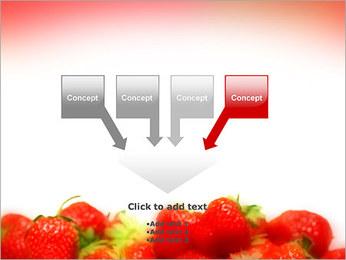 Fraise Modèles des présentations  PowerPoint - Diapositives 8
