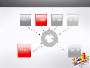 Relatórios de Negócios Modelos de apresentações PowerPoint - Slide 10