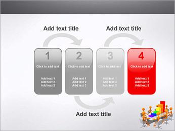 Relatórios de Negócios Modelos de apresentações PowerPoint - Slide 11