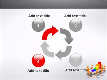Relatórios de Negócios Modelos de apresentações PowerPoint - Slide 14