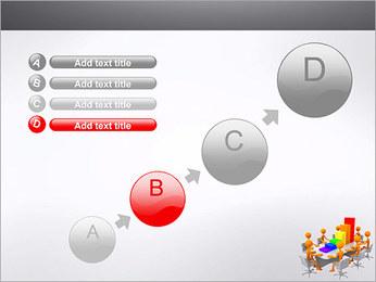 Relatórios de Negócios Modelos de apresentações PowerPoint - Slide 15