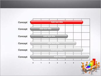 Relatórios de Negócios Modelos de apresentações PowerPoint - Slide 17