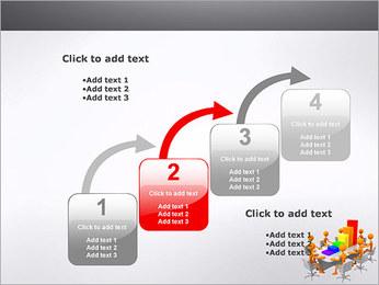 Relatórios de Negócios Modelos de apresentações PowerPoint - Slide 20