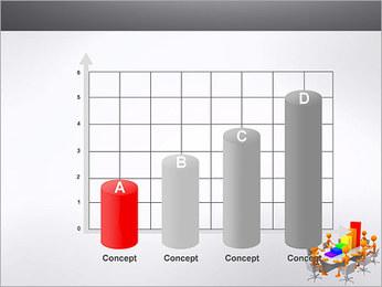 Relatórios de Negócios Modelos de apresentações PowerPoint - Slide 21