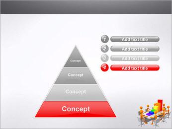Relatórios de Negócios Modelos de apresentações PowerPoint - Slide 22