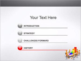 Relatórios de Negócios Modelos de apresentações PowerPoint - Slide 3