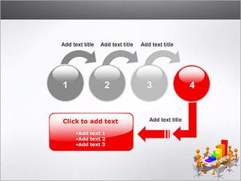 Relatórios de Negócios Modelos de apresentações PowerPoint - Slide 4