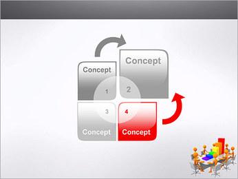 Relatórios de Negócios Modelos de apresentações PowerPoint - Slide 5