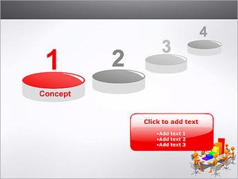 Relatórios de Negócios Modelos de apresentações PowerPoint - Slide 7