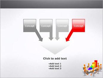 Relatórios de Negócios Modelos de apresentações PowerPoint - Slide 8