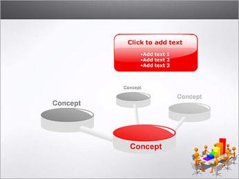 Relatórios de Negócios Modelos de apresentações PowerPoint - Slide 9
