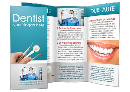 Dental Instruments Brochure Template Design Id 0000001482