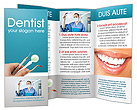 Dental Instruments Brochure Template