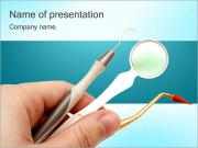 Dental Instruments PowerPoint sunum şablonları