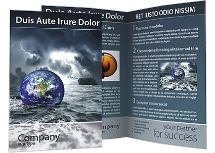 Great deluge brochure template design id 0000001488 for Great brochure templates
