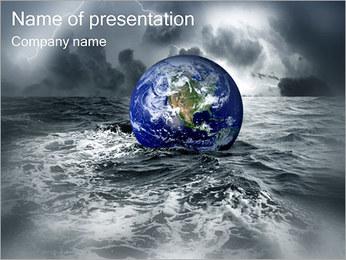 Grand Déluge Modèles des présentations  PowerPoint - Diapositives 1
