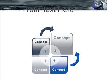 Grand Déluge Modèles des présentations  PowerPoint - Diapositives 5