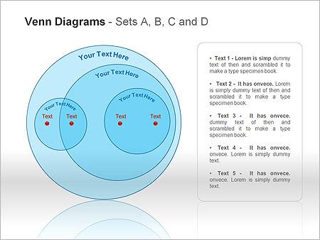Диаграммы Венна Схемы и диаграммы для PowerPoint - Слайд 11