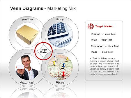 Диаграммы Венна Схемы и диаграммы для PowerPoint - Слайд 12
