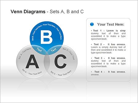 Диаграммы Венна Схемы и диаграммы для PowerPoint - Слайд 4