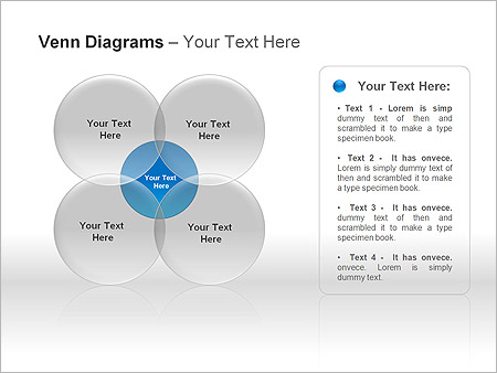 Диаграммы Венна Схемы и диаграммы для PowerPoint - Слайд 6