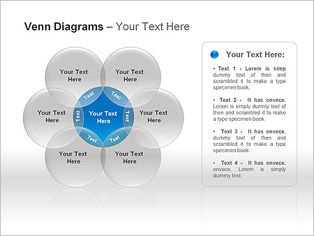 Диаграммы Венна Схемы и диаграммы для PowerPoint - Слайд 7