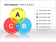 Venn Diagrams PPT Diagrams & Chart