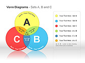 Диаграммы Венна Схемы и диаграммы для PowerPoint - Слайд 1