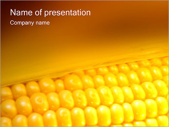 Corn PowerPoint Template