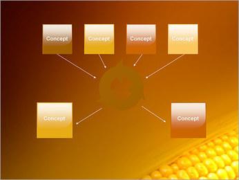 Maïs Modèles des présentations  PowerPoint - Diapositives 10