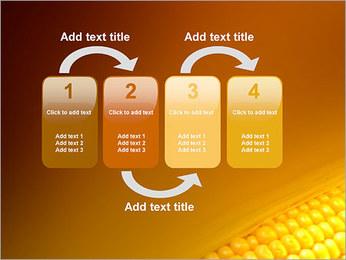 Maïs Modèles des présentations  PowerPoint - Diapositives 11
